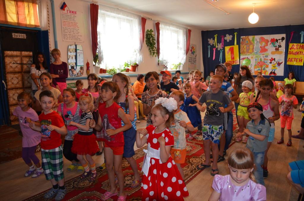 1 июня мероприятие для детей в СДК с.Мирный